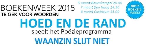 Boekenweek 2015